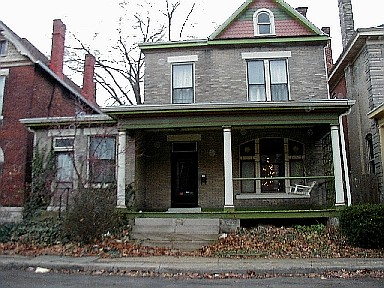Edmond Mosher's home in Columbus Ohio